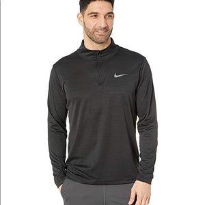 Nike Men Superset Long-Sleeve 1/4-Zip Training Top